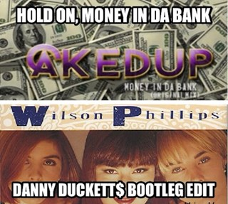 Hold On vs Money In Da Bank by Wilson Philips vs Caked Up Download